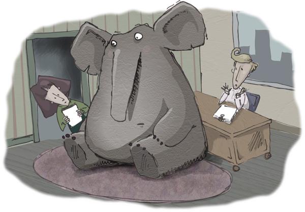 The Elephant in the Room   ShelfTalker
