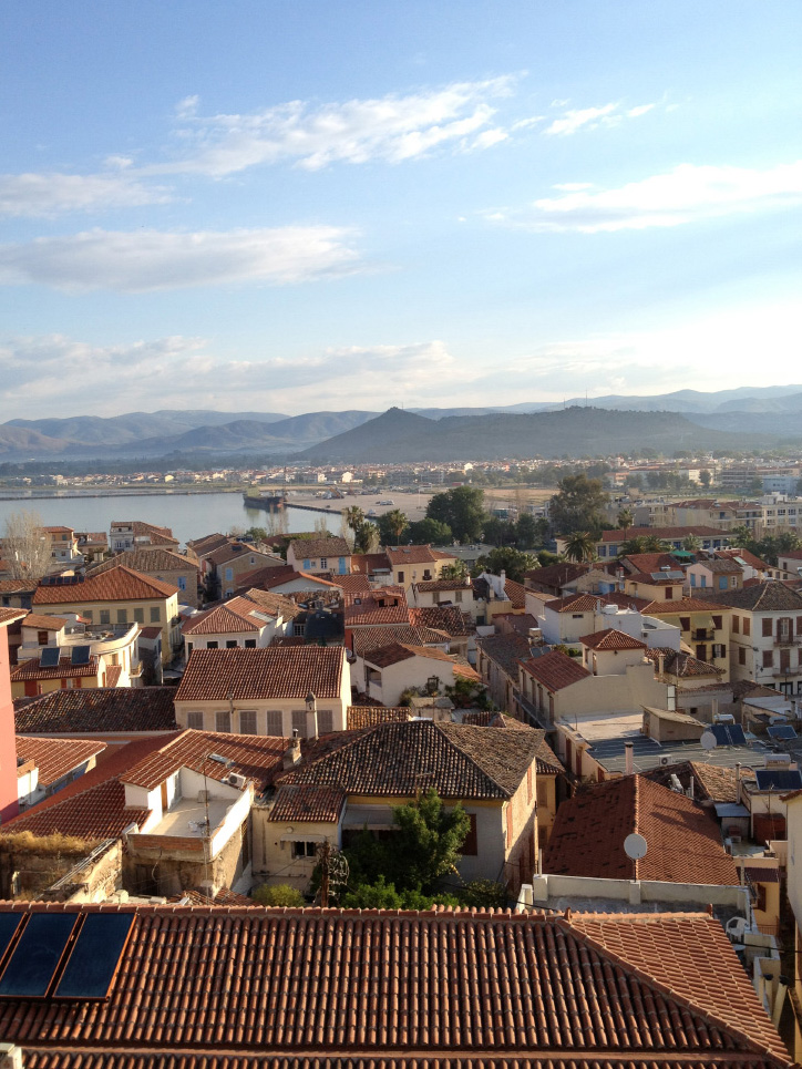 Morning light over Nafplio