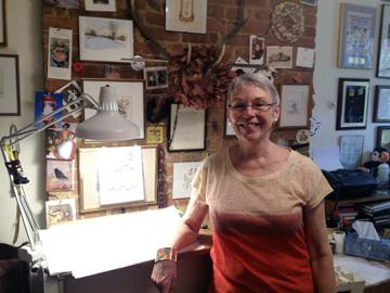 Betsy in Studio