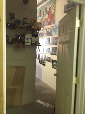 Katie's inner sanctum
