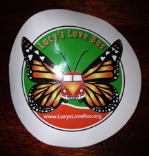 lucys love bus logo