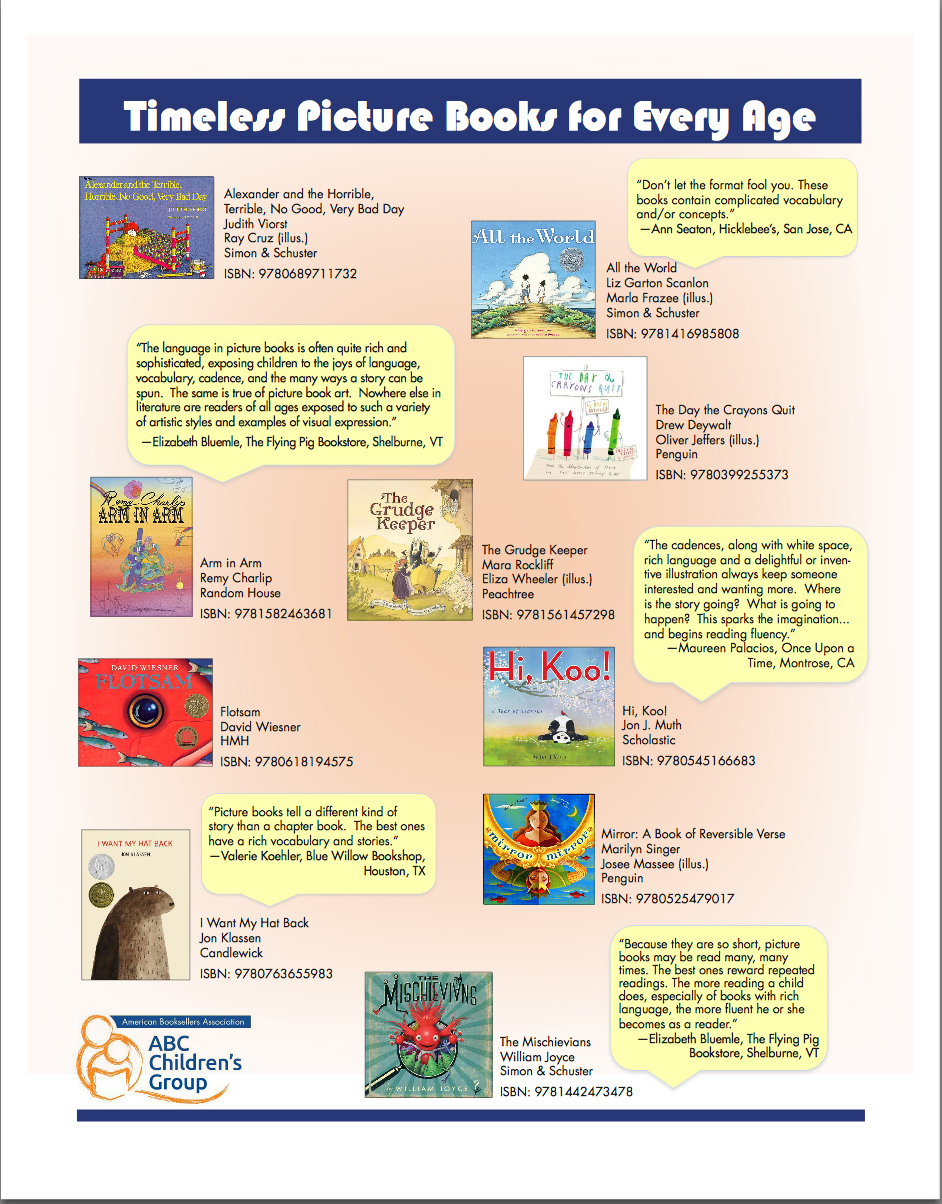 Timeless Picture Books page 1