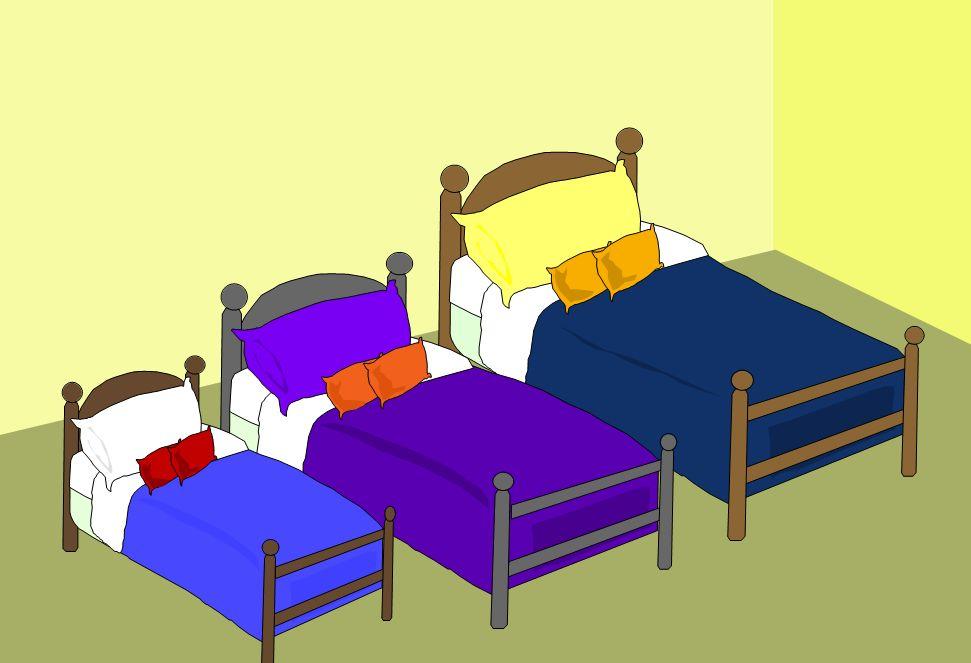 Goldilocks-beds