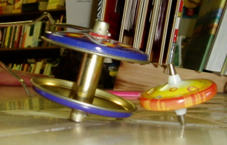 The Original Atomich Whirl-o on the DDG counter in happier times.