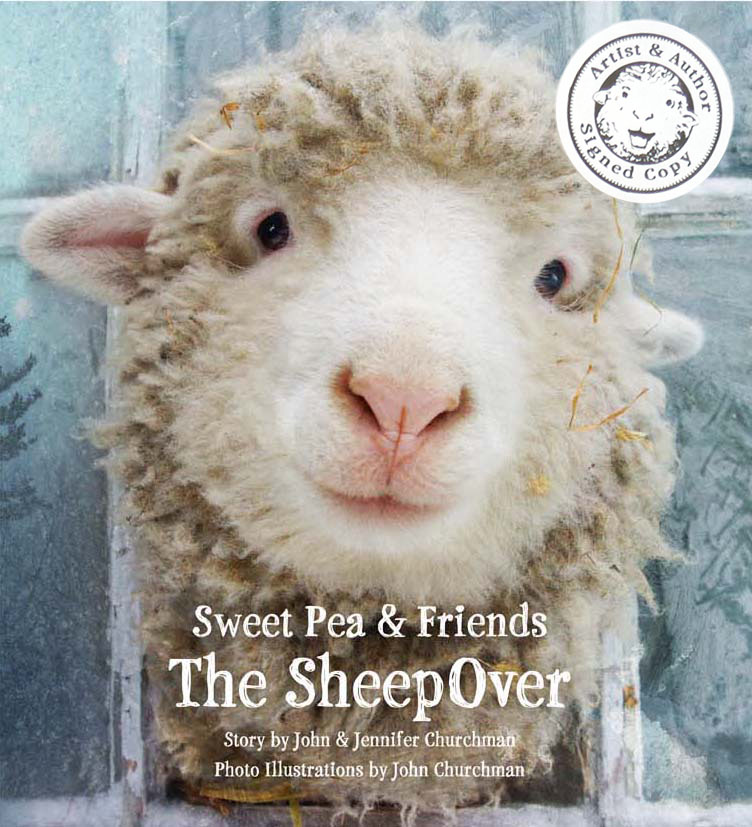 Sweet Pea_the_SheepOver_sticker