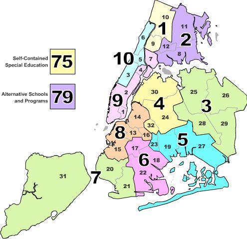 School District Nyc Map.John Locke Considers The Amazon Nyc School District Deal Shelftalker