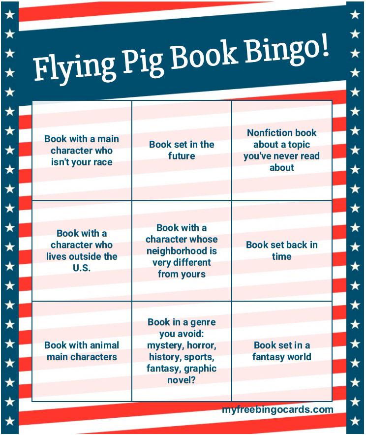 Summer Reading Challenge Book Bingo Shelftalker